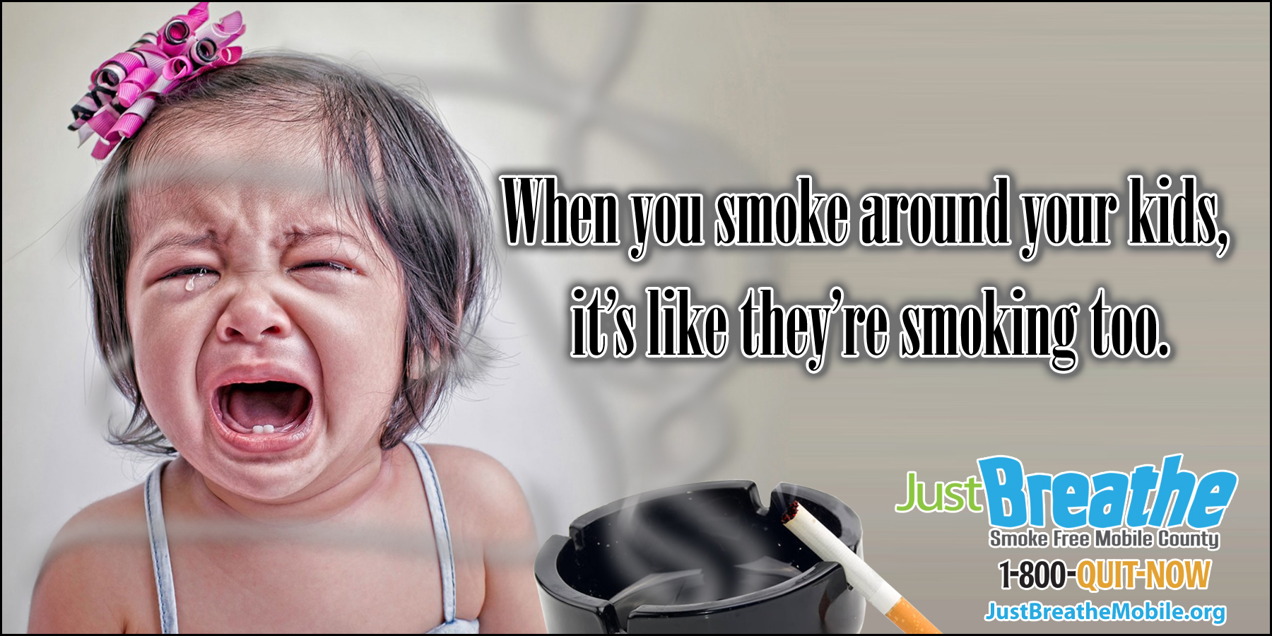 When you smoke, they smoke